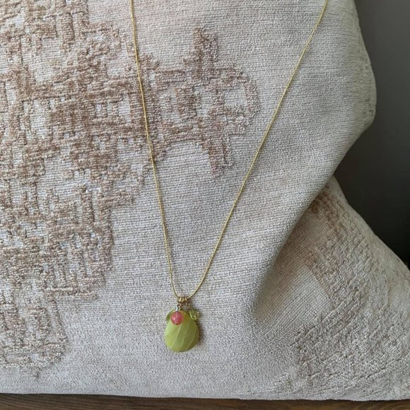 Banana Republic Wire Gem Necklace